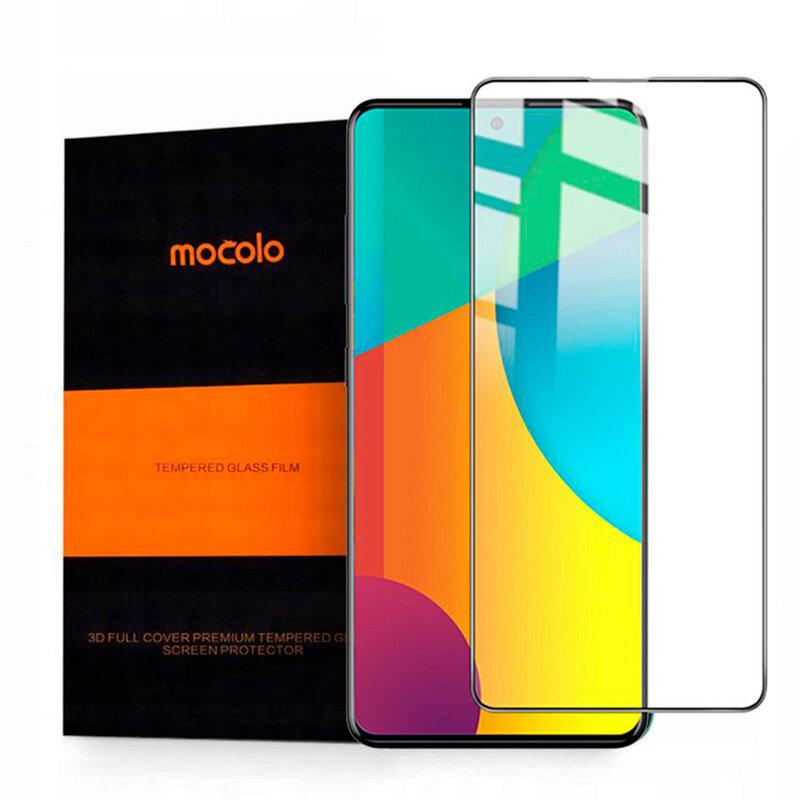Folie Sticla Samsung Galaxy A51 Mocolo Full Glue 9H - Black