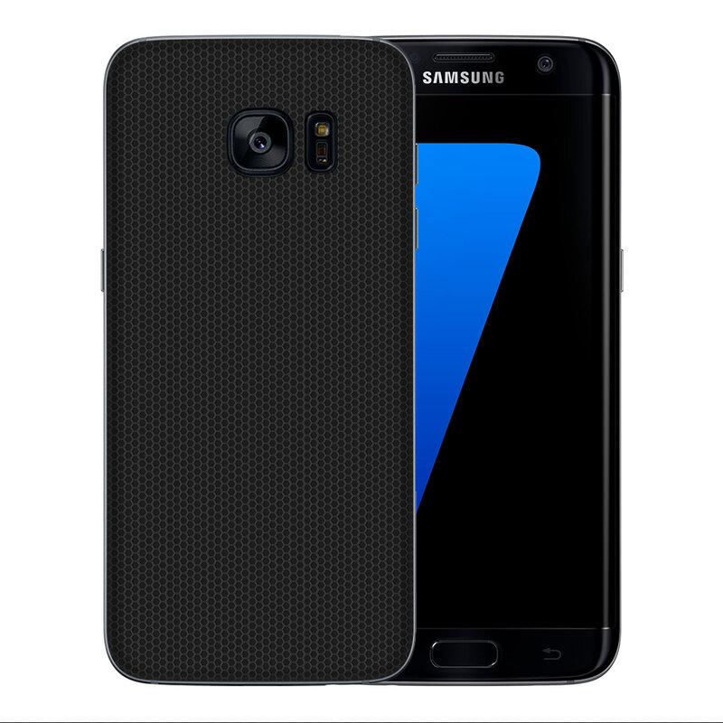 Skin Samsung Galaxy S7 Edge - Sticker Mobster Autoadeziv Pentru Spate - Matrix