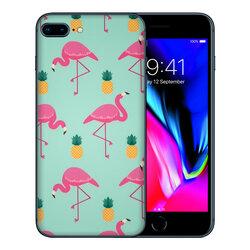 Skin iPhone 7 Plus - Sticker Mobster Autoadeziv Pentru Spate - Flamingo