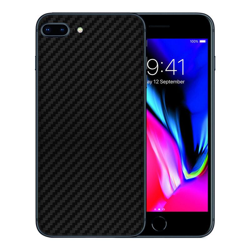 Skin iPhone 7 Plus - Sticker Mobster Autoadeziv Pentru Spate - Carbon Black