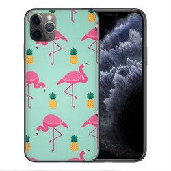 Skin iPhone 11 Pro - Sticker Mobster Autoadeziv Pentru Spate - Flamingo