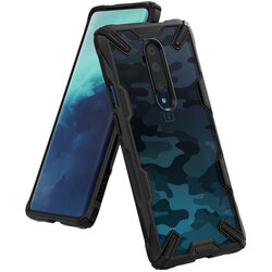 Husa OnePlus 7T Pro Ringke Fusion X Design - Camo Black