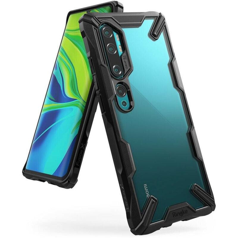 Husa Xiaomi Mi CC9 Pro Ringke Fusion X - Black