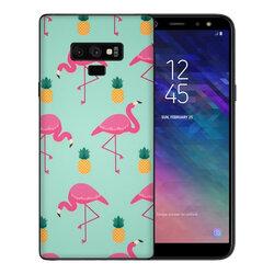 Skin Samsung Galaxy Note 9 - Sticker Mobster Autoadeziv Pentru Spate - Flamingo