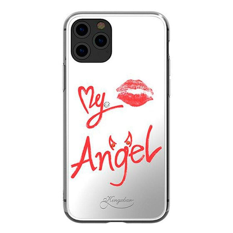 Husa iPhone 11 Pro Max Kingxbar Crystals from Swarovski - Transparent