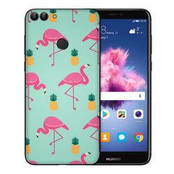 Skin Huawei P Smart - Sticker Mobster Autoadeziv Pentru Spate - Flamingo