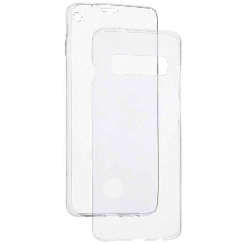 Husa Samsung Galaxy S10 TPU UltraSlim 360 Cu Senzor De Amprenta - Transparent