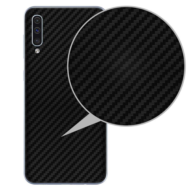 Skin Samsung Galaxy A50 - Sticker Mobster Autoadeziv Pentru Spate - Carbon Black
