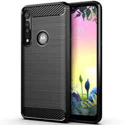 Husa Motorola One Macro TPU Carbon - Negru