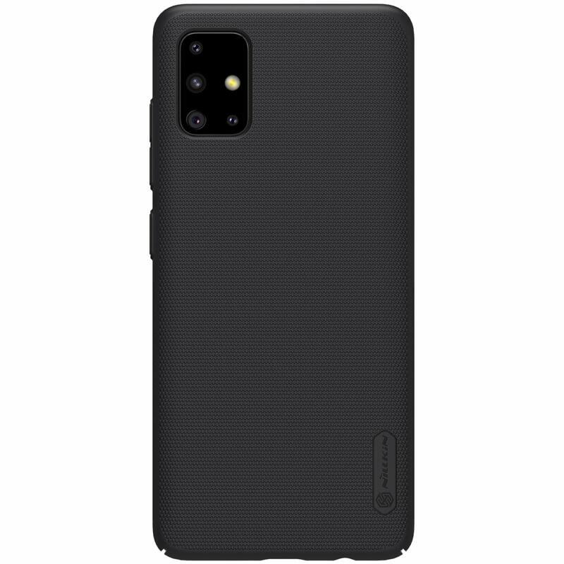 Husa Samsung Galaxy A51 Nillkin Super Frosted Shield - Black