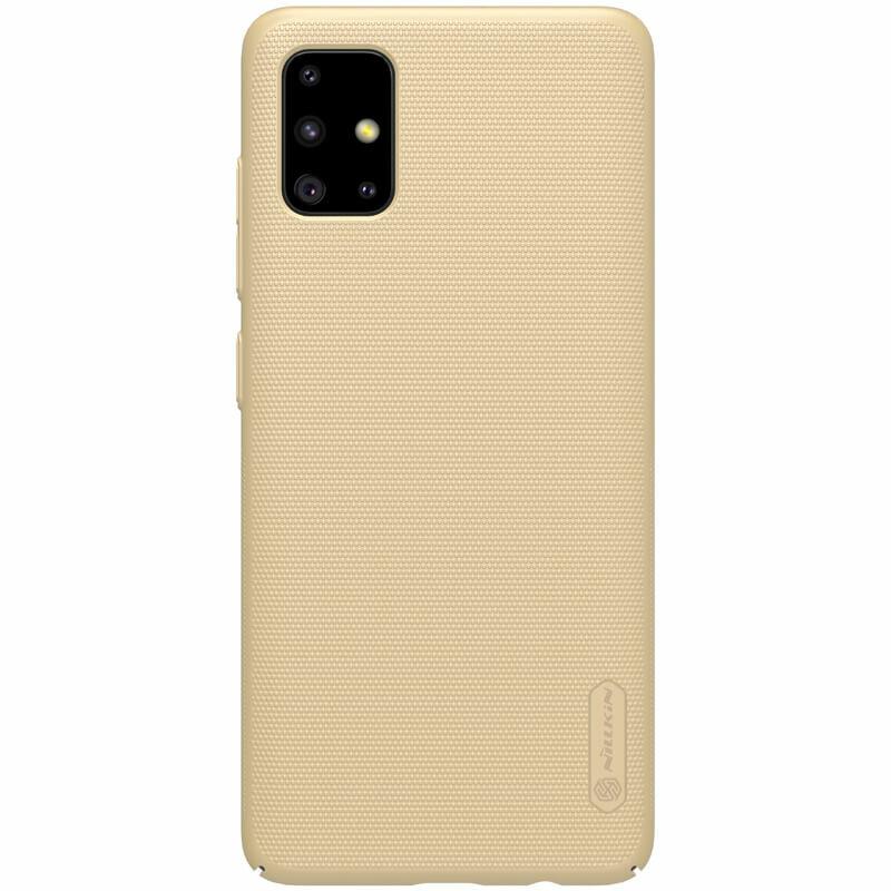Husa Samsung Galaxy A51 Nillkin Super Frosted Shield - Gold