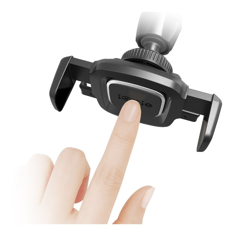 Suport Auto IOttie Easy One Touch 4 Universal Pentru Grila De Ventilatie - Negru