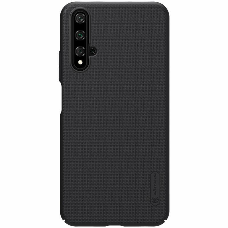 Husa Huawei Nova 5T Nillkin Super Frosted Shield - Black