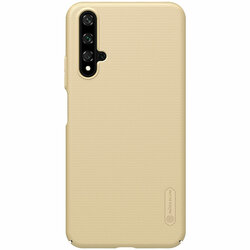 Husa Huawei Nova 5T Nillkin Super Frosted Shield - Gold
