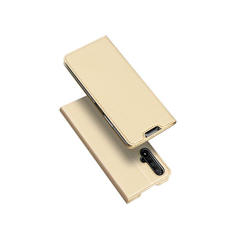 Husa Huawei Nova 5T Dux Ducis Flip Stand Book - Auriu