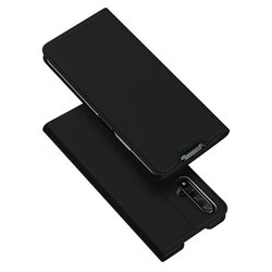 Husa Huawei Nova 5T Dux Ducis Flip Stand Book - Negru