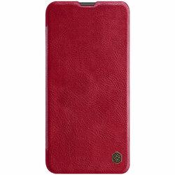 Husa Huawei Nova 5T Nillkin QIN Leather - Rosu
