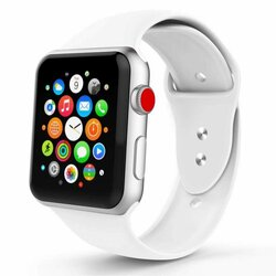 Curea Apple Watch 5 40mm Tech-Protect Smoothband - White