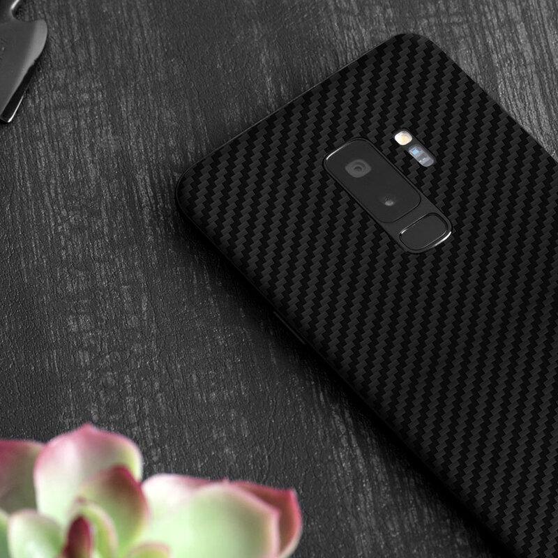 Skin Samsung Galaxy S9 - Sticker Mobster Autoadeziv Pentru Spate - Carbon Black