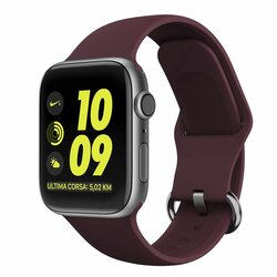 Curea Apple Watch 1 42mm Tech-Protect Gearband - Bordo