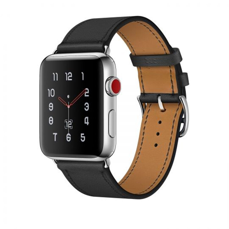 Curea Apple Watch 1 42mm Tech-Protect Herms - Negru