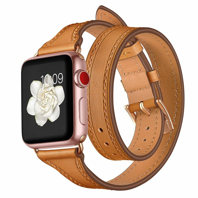 Curea Apple Watch 1 42mm Tech-Protect Longcharm - Maro