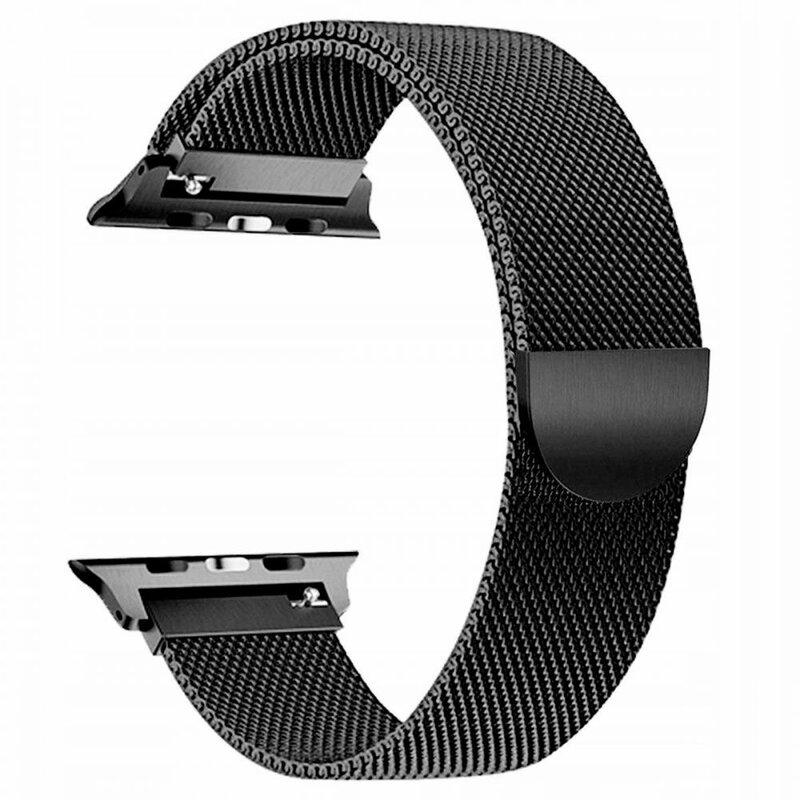Curea Apple Watch 1 42mm Tech-Protect Milaneseband - Negru