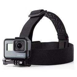 Banda Suport Elastica Pentru Cap GoPro Tech-Protect Headstrap - Negru
