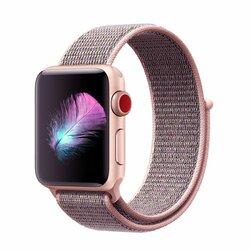 Curea Apple Watch 3 38mm Tech-Protect Nylon - Roz