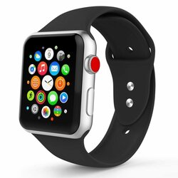 Curea Apple Watch 1 38mm Tech-Protect Smoothband - Black