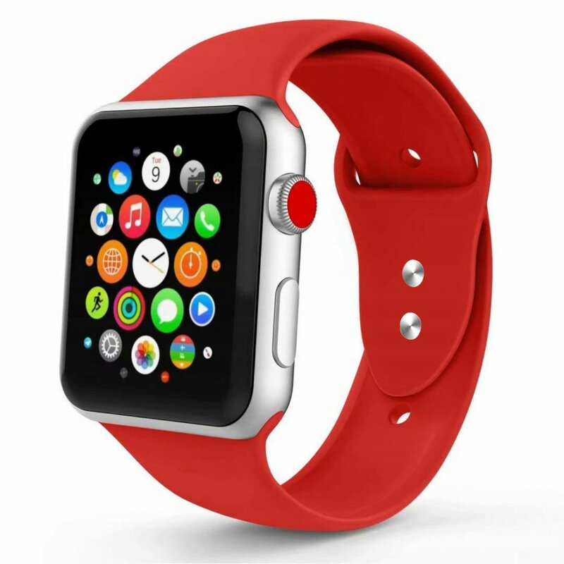 Curea Apple Watch 1 38mm Tech-Protect Smoothband - Red