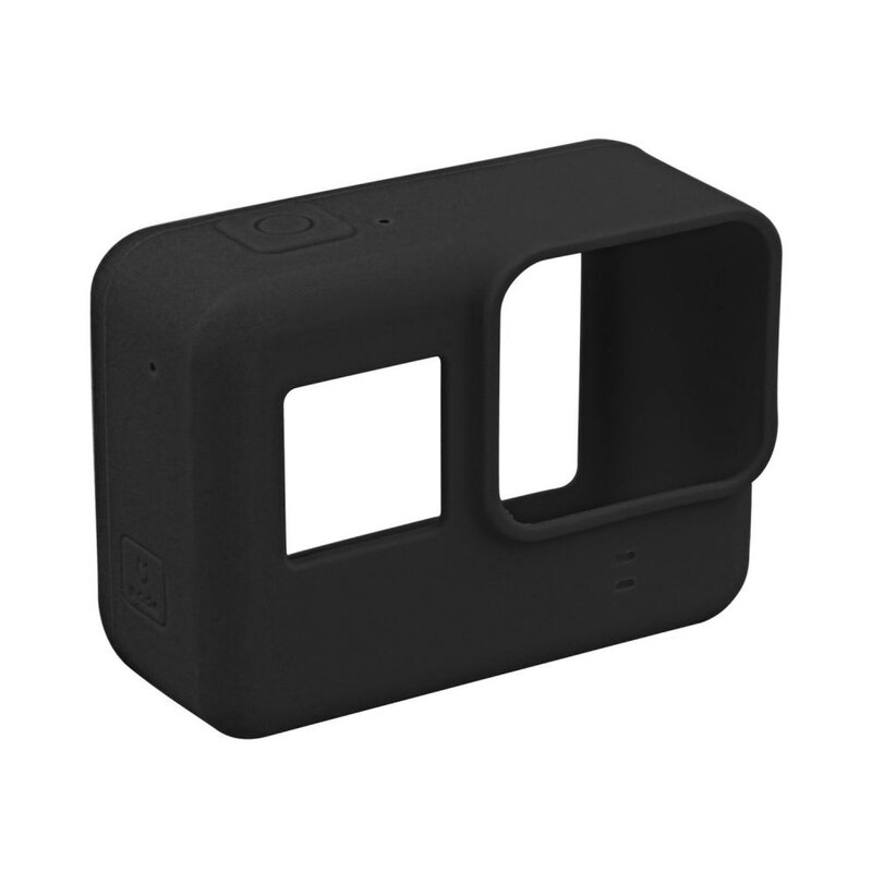 Husa GoPro Hero 5/6/7 Tech-Protect Smooth Case Din Silicon - Negru
