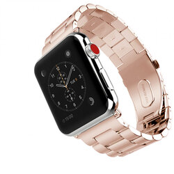 Curea Apple Watch 1 42mm Tech-Protect Stainless - Blush Gold