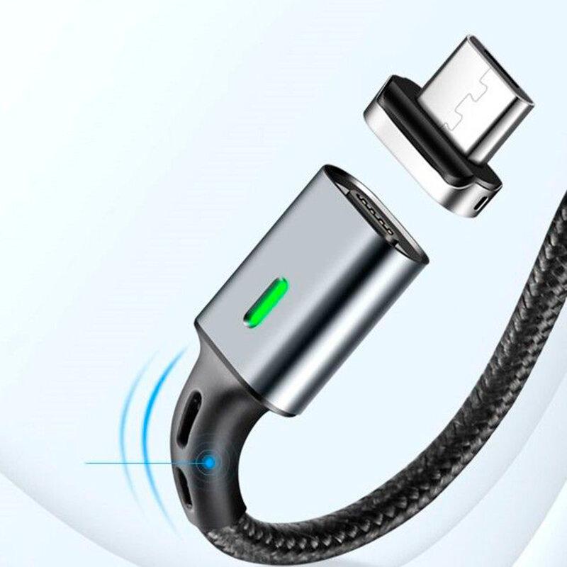 Adaptor Micro-USB Elough Pentru Cablu Magnetic De Tip E05 - Argintiu
