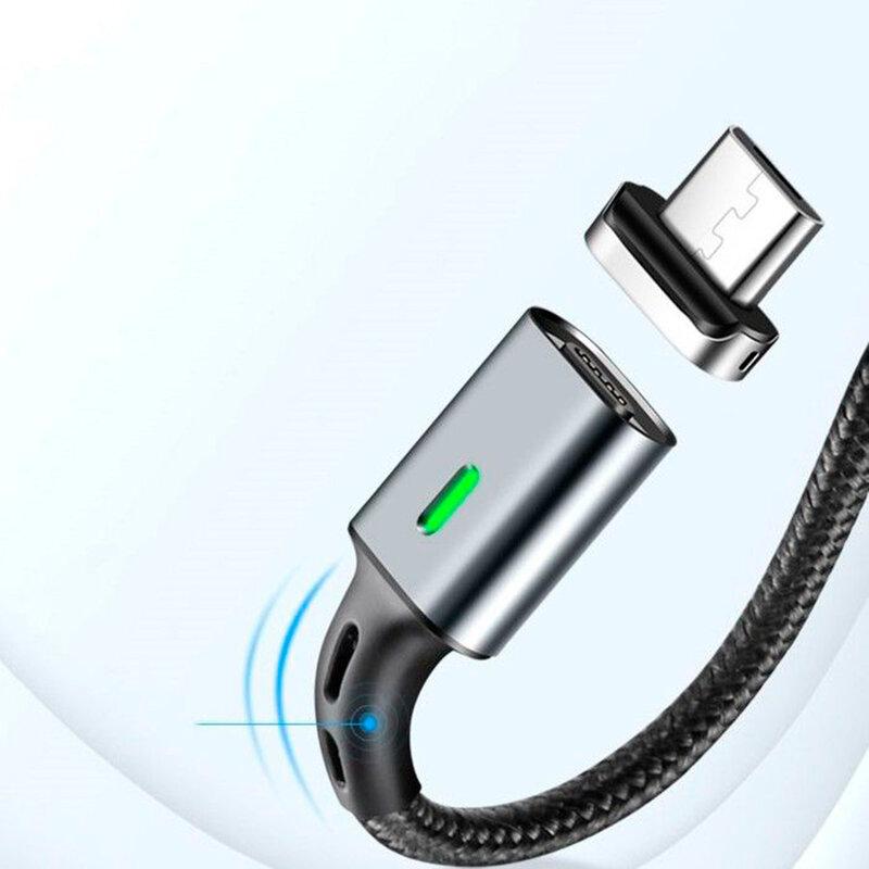 Cablu De Date Elough E05 Magnetic USB to Lightning 3A 1m - Negru