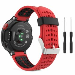 Curea Garmin Forerunner 630 Tech-Protect Smooth - Rosu/Negru