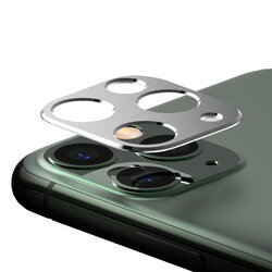 Folie Obiectiv iPhone 11 Pro Max Ringke Camera Styling Din Otel Inoxidabil - Argintiu