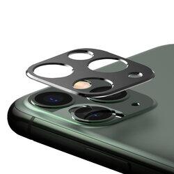 Folie Obiectiv iPhone 11 Pro Max Ringke Camera Styling Din Otel Inoxidabil - Negru