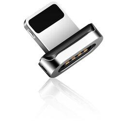 Adaptor Lightning Elough Pentru Cablu Magnetic De Tip E05 - Argintiu