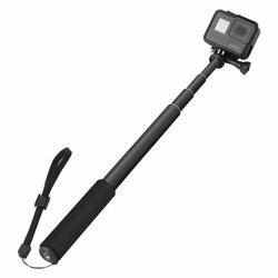 Suport Selfie Stick Telescopic GoPro Hero Tech-Protect Universal - Negru
