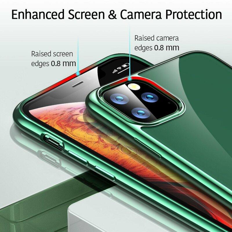 Husa iPhone 11 Pro ESR Essential Crown - Pine Green