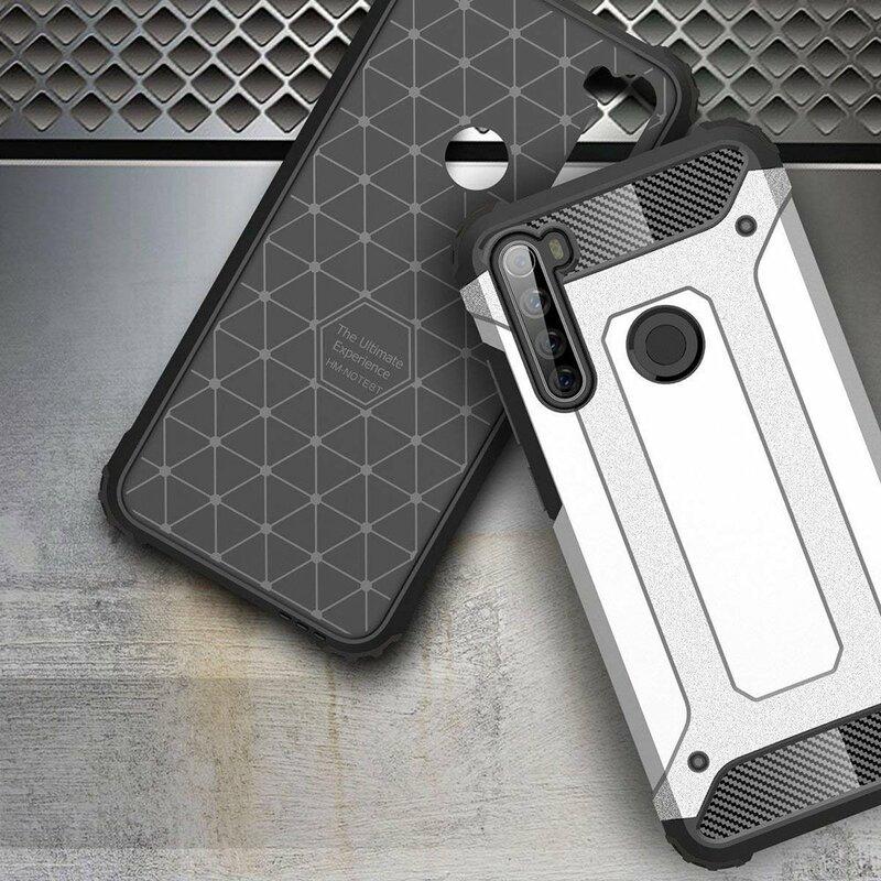 Husa Xiaomi Redmi Note 8T Hybrid Armor - Albastru