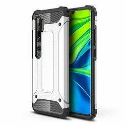 Husa Xiaomi Mi CC9 Pro Hybrid Armor - Argintiu