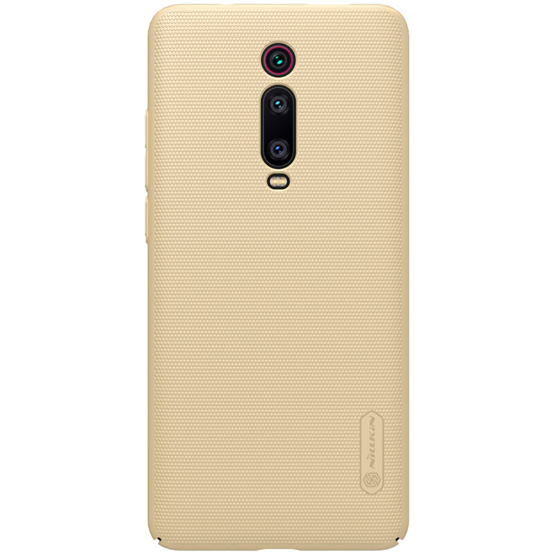 Husa Xiaomi Mi 9T Pro Nillkin Super Frosted Shield - Gold