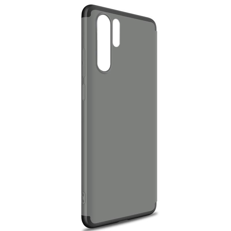 Husa Xiaomi Mi 9T Pro GKK 360 Full Cover Fumuriu/Negru