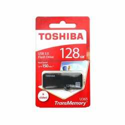 Stick USB Toshiba U365 TransMemory Flash Drive 128GB USB 3.0 150MB/s - Negru