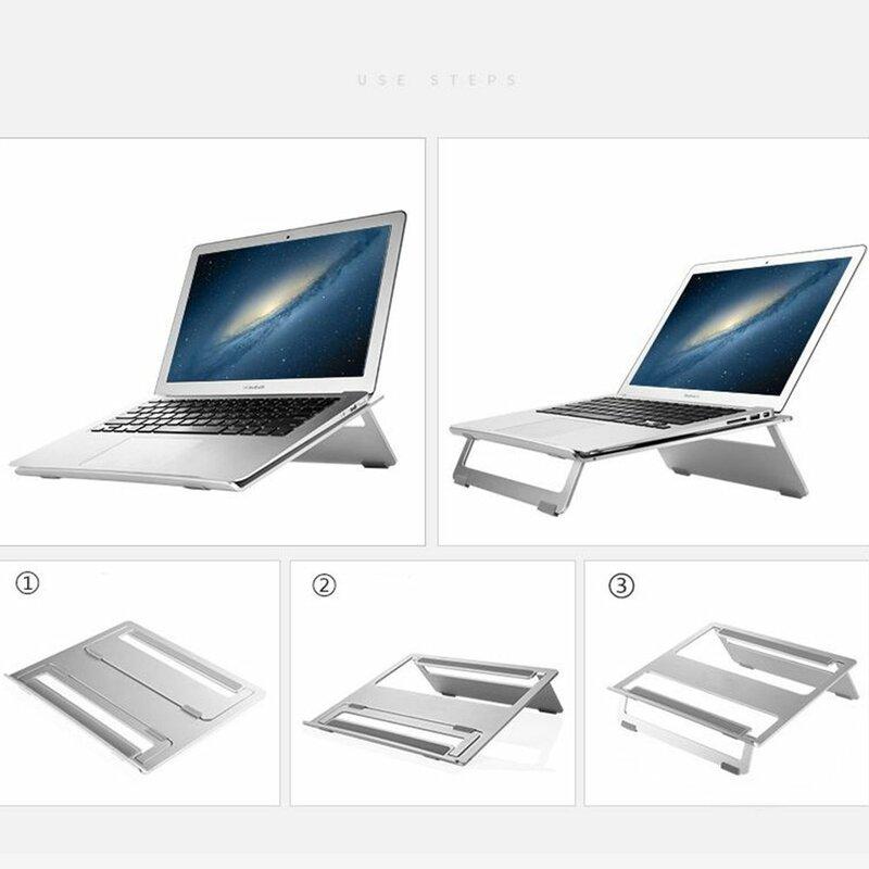 Suport Laptop Seenda De Tip Stand Pliabil Universal - Argintiu