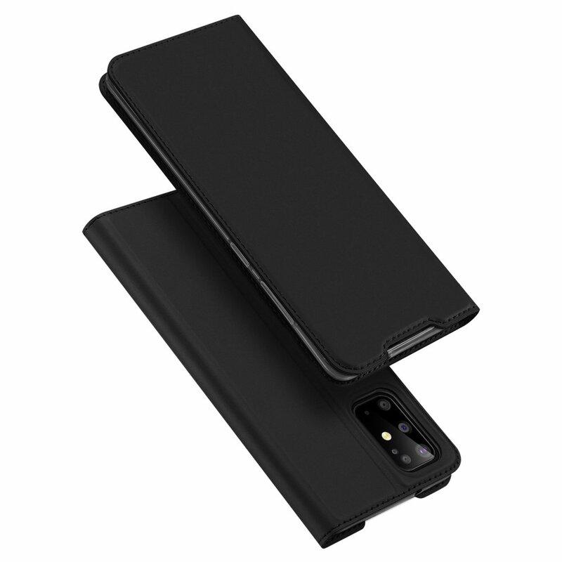Husa Samsung Galaxy S20 Plus Dux Ducis Flip Stand Book - Negru