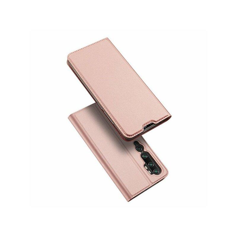 Husa Xiaomi Mi CC9 Pro Dux Ducis Flip Stand Book - Roz