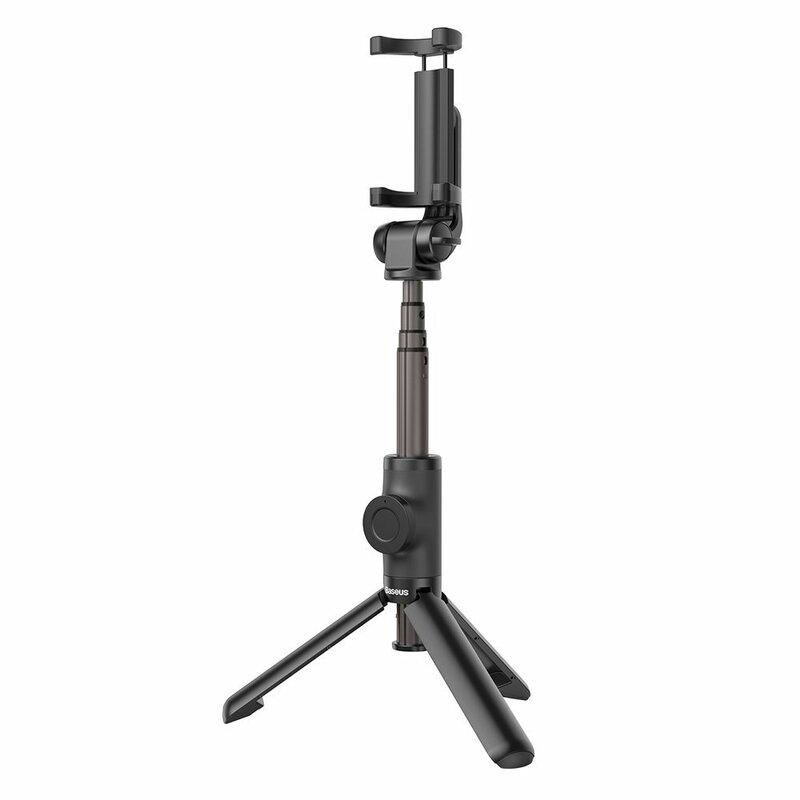 Suport Selfie Stick Baseus Lovely Bluetooth Tripod Telescopic Cu Telecomanda – SUDYZP-E01 – Negru